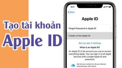 Hướng dẫn chi tiết cách tạo tài khoản Apple ID cực dễ bằng bất kỳ thiết bị nào, chỉ trong một nốt nhạc