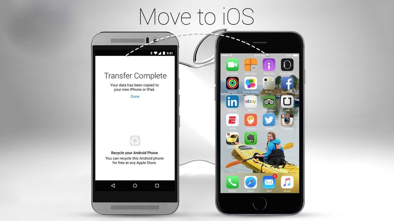 5 cách chuyển dữ liệu hình ảnh, video, nhạc, tệp tin từ điện thoại Android sang iPhone nhanh nhất