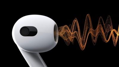 AirPods 3 ra mắt: Âm thanh Dolby Atmos, nghe nhạc tới 30 giờ, sạc MagSafe, giá từ 4 triệu đồng