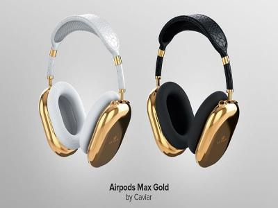 Đây là chiếc AirPods Max phiên bản 'vàng nguyên chất' giá trên trời, tận 2,5 tỉ đồng, có ai mua không?