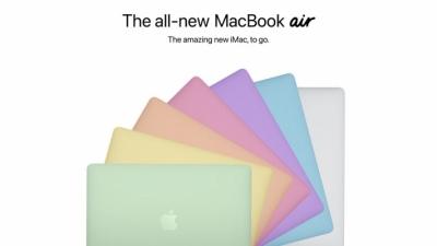 MacBook Air M2 với nhiều phiên bản màu sắc và sẽ được ra mắt trong nửa đầu năm 2022