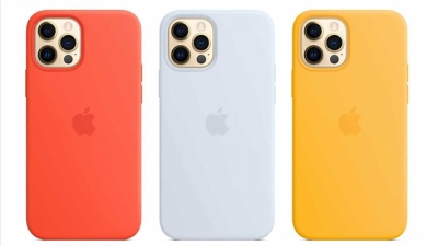 Apple tung ra ba màu sắc mới cho bộ sưu tập ốp lưng của iPhone 12 mang chủ đề mùa hè