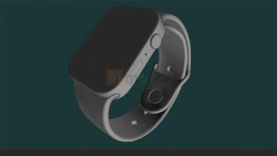 Lộ diện mô hình CAD mới của Apple Watch Series 7: Thiết kế viền phẳng mới với màn hình lớn hơn