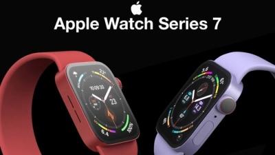 Apple Watch Series 7 thay đổi thiết kế mặt đồng hồ mới để tận dụng lợi thế của màn hình lớn hơn