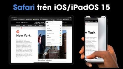 Các tính năng mới nhất được cập nhật cho Safari trong iOS 15 và iPadOS 15