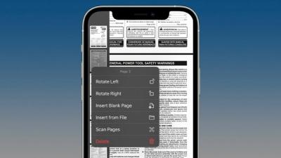 Cách chỉnh sửa tệp PDF với iPhone và iPad trong ứng dụng Tệp trên iOS iPadOS 15