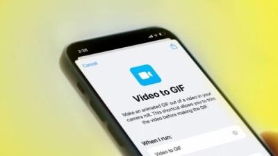 Cách tạo nhanh ảnh GIF từ video bằng phím tắt iPhone cực dễ