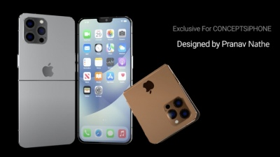 Concept iPhone Flip tuyệt đẹp này sẽ khiến bao con tim thổn thức
