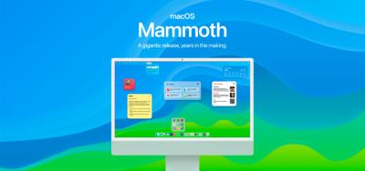 Concept macOS Mammoth: Định nghĩa lại trải nghiệm Mac với cuộc đại tu từ thiết kế đến tính năng
