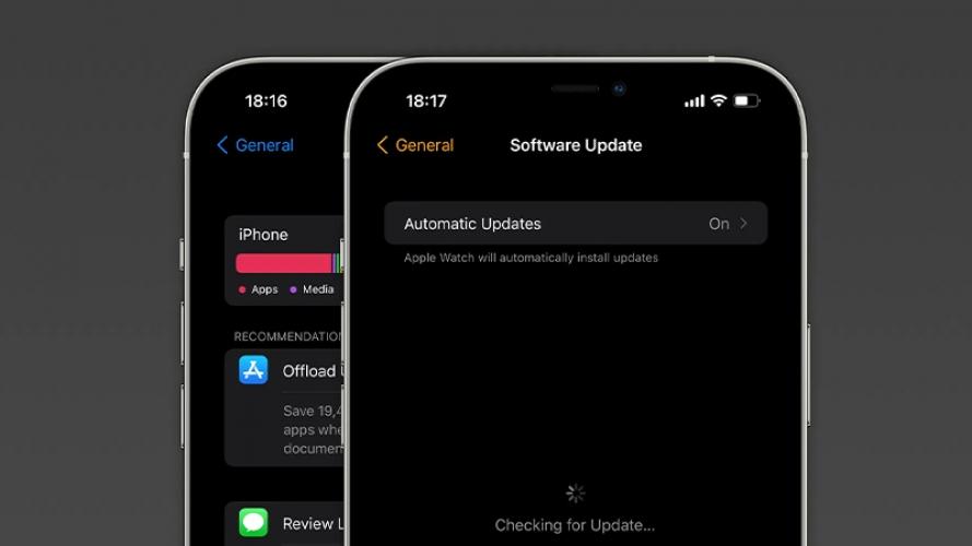 iOS 15 đã ít tốn dung lượng hơn, thiết bị dù chỉ còn 500MB vẫn có thể cập nhật