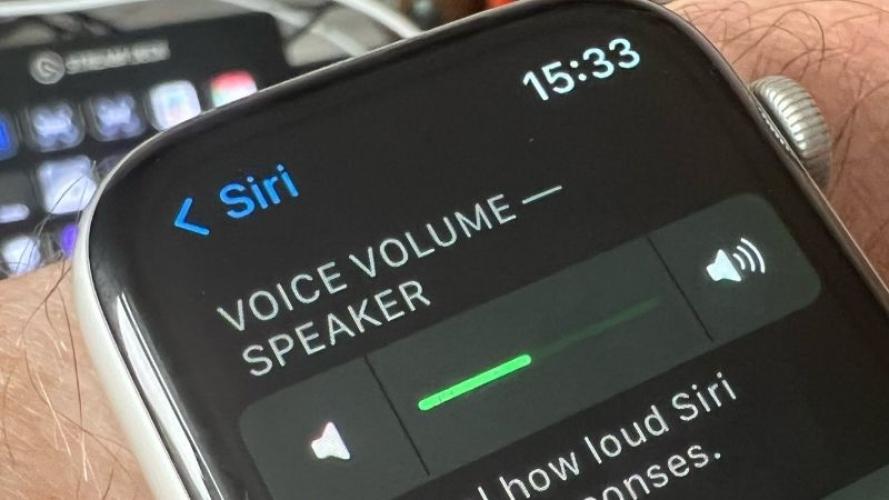 Hướng dẫn điều chỉnh, thay đổi âm lượng trên Apple Watch cực dễ chỉ trong một nốt nhạc