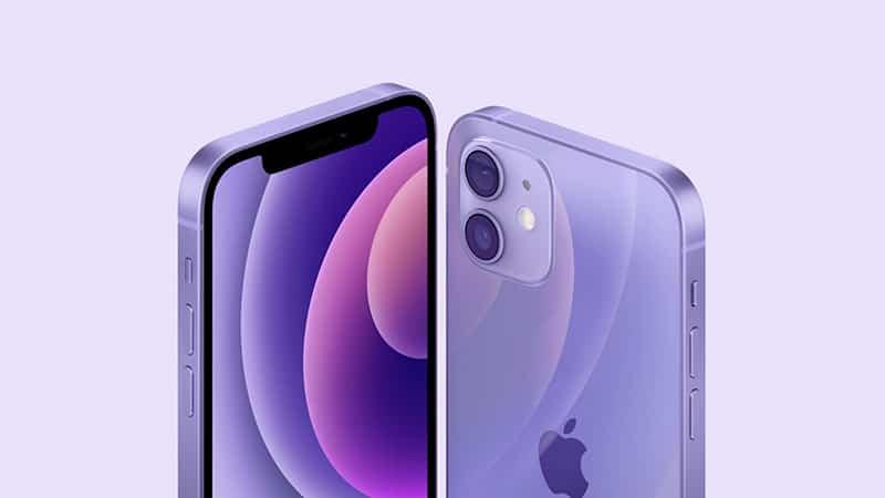 Apple ra mắt iPhone 12 và iPhone 12 mini phiên bản tím mộng mơ, giá không đổi