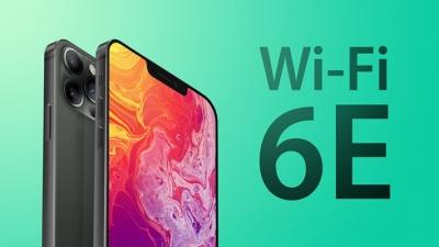 iPhone 13 series sẽ được trang bị Wi-Fi 6E để cải thiện tốc độ kết nối nhanh hơn