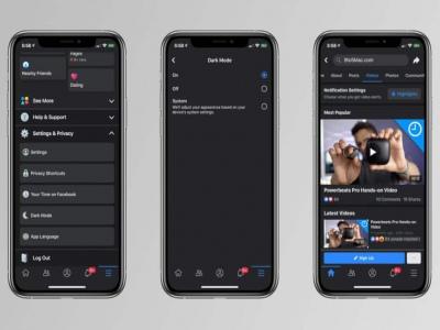 Hướng dẫn cách bật chế độ nền tối Dark Mode cho Facebook trên iPhone (iOS)