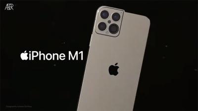 Ngắm nhìn concept iPhone 13 mới cực độc đáo sử dụng chip M1 của Apple