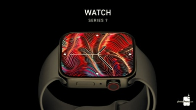 Apple Watch Series 7 xuất hiện cực cuốn hút với màn hình lớn hơn, viềng mỏng và phẳng hơn