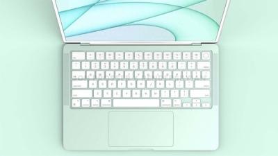 Chiêm ngưỡng bộ ảnh render MacBook Air M2 có nhiều màu sắc giống iMac M1 và có viền phẳng hơn