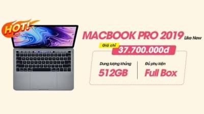 Sắm MacBook Pro 13 2019 512GB like new đẹp leng keng, giá hời hơn tận 5 triệu so với máy mới!