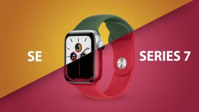 So sánh Apple Watch Series 7 vs Apple Watch SE: Khác biệt là gì, nên mua mẫu nào thì phù hợp?