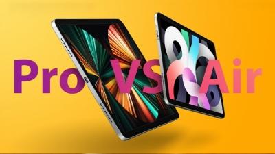 So sánh iPad Air 2020 và iPad Pro 2021: đâu là sự khác biệt, có đáng để bỏ thêm tiền nâng cấp?