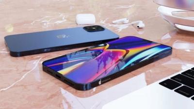 Tiếp tục lộ ảnh render iPhone 12 với màu xanh navy mới cùng thiết kế tương tự iPhone 5