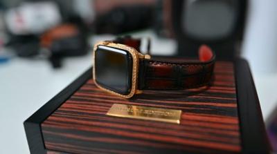 Trên tay Apple Watch Aurum-Edition: Chiếc đồng hồ bằng vàng 24K trị giá 6.000 đô không phải có tiền là mua được
