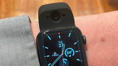 Trên tay Wristcam, dây đeo Apple Watch có camera kép: Giải pháp cực phù hợp cho việc chạy bộ mà không cần mang theo điện thoại