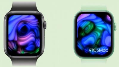 Chi tiết về kích thước màn hình và các phiên bản màu sắc mới trên Apple Watch Series 7