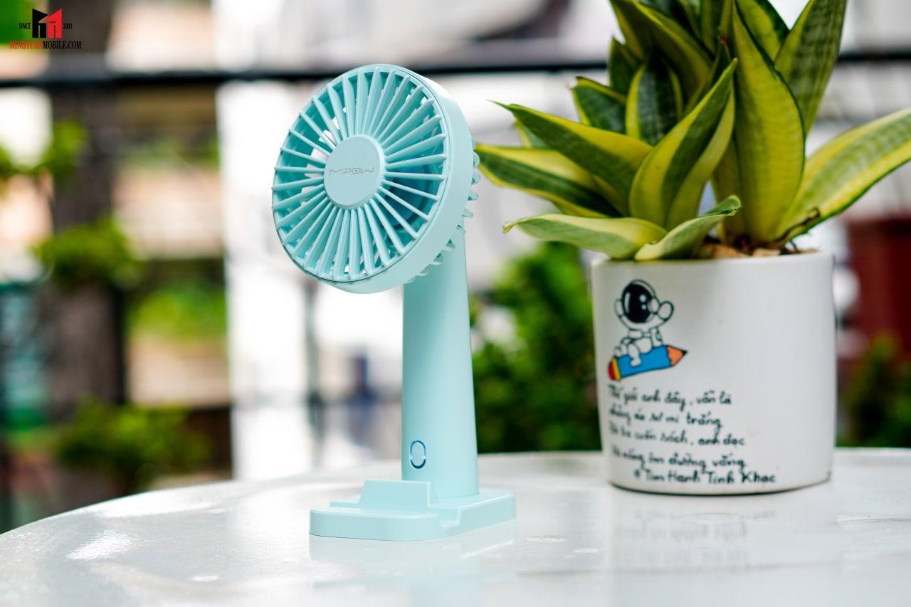 Quạt Mipow cầm tay Flip Adjust Mini Fan Light