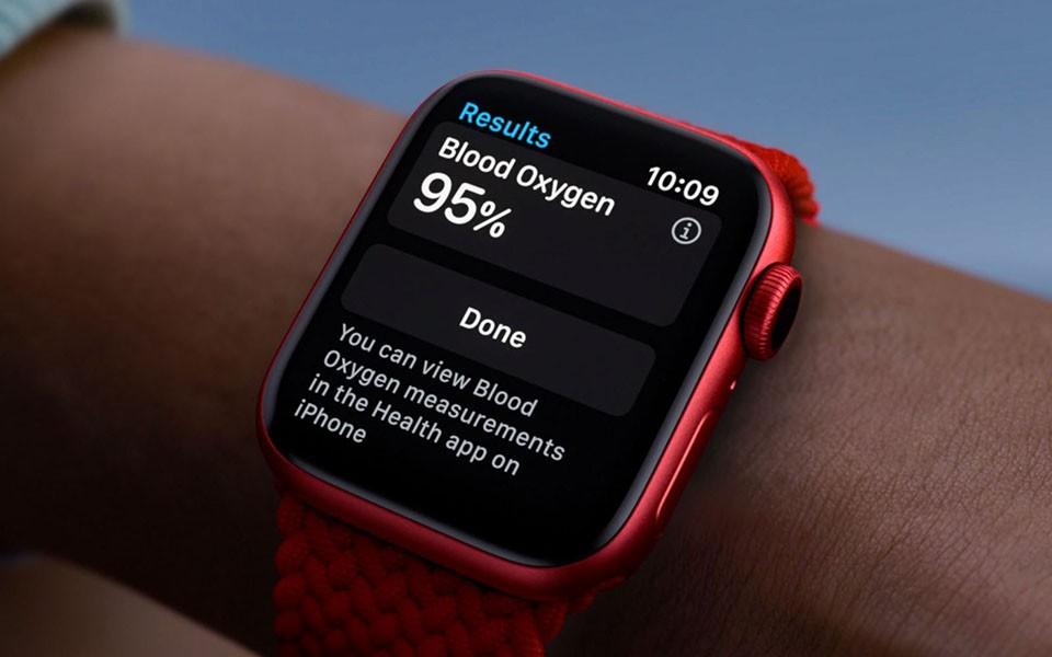 Đo Spo2 trên Apple Watch Series 6