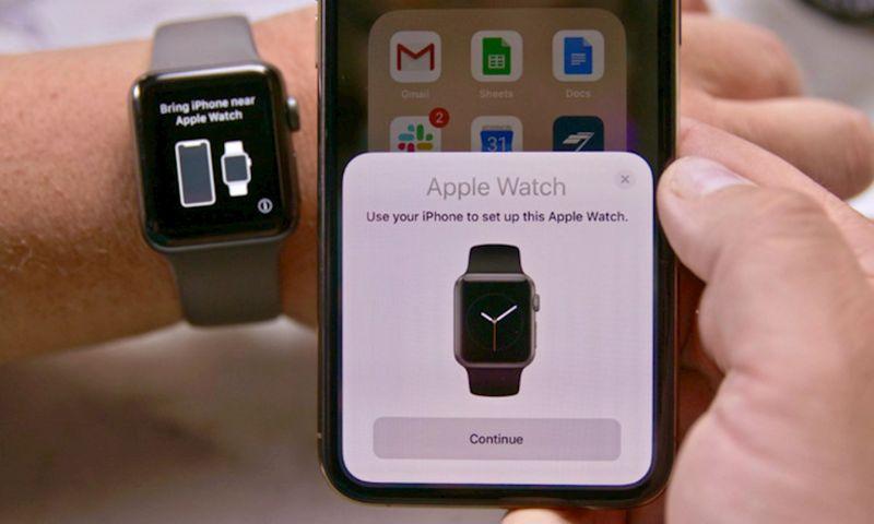 cách ghép nối Apple Watch với iPhone