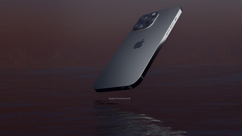 Màu đen nhám của iPhone 13 Pro