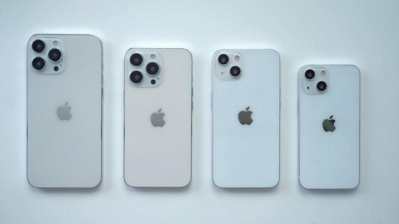 Mô hình giả của iPhone 13