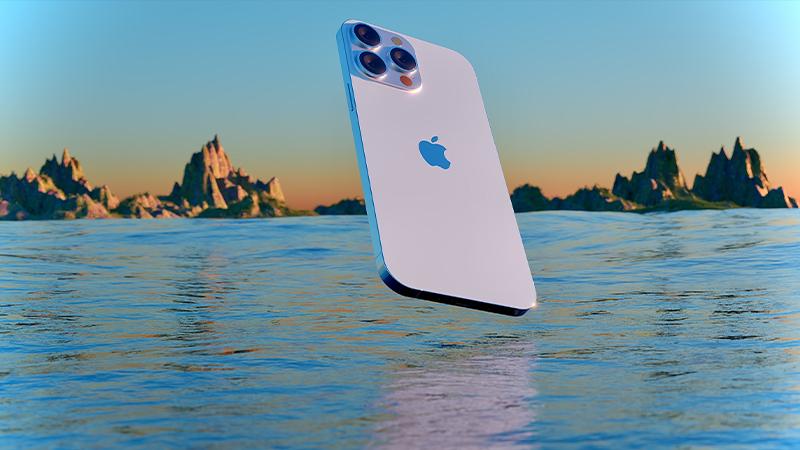 Màu bạc iPhone 13
