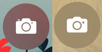 Biểu tượng máy ảnh trên iOS 15 beta 4