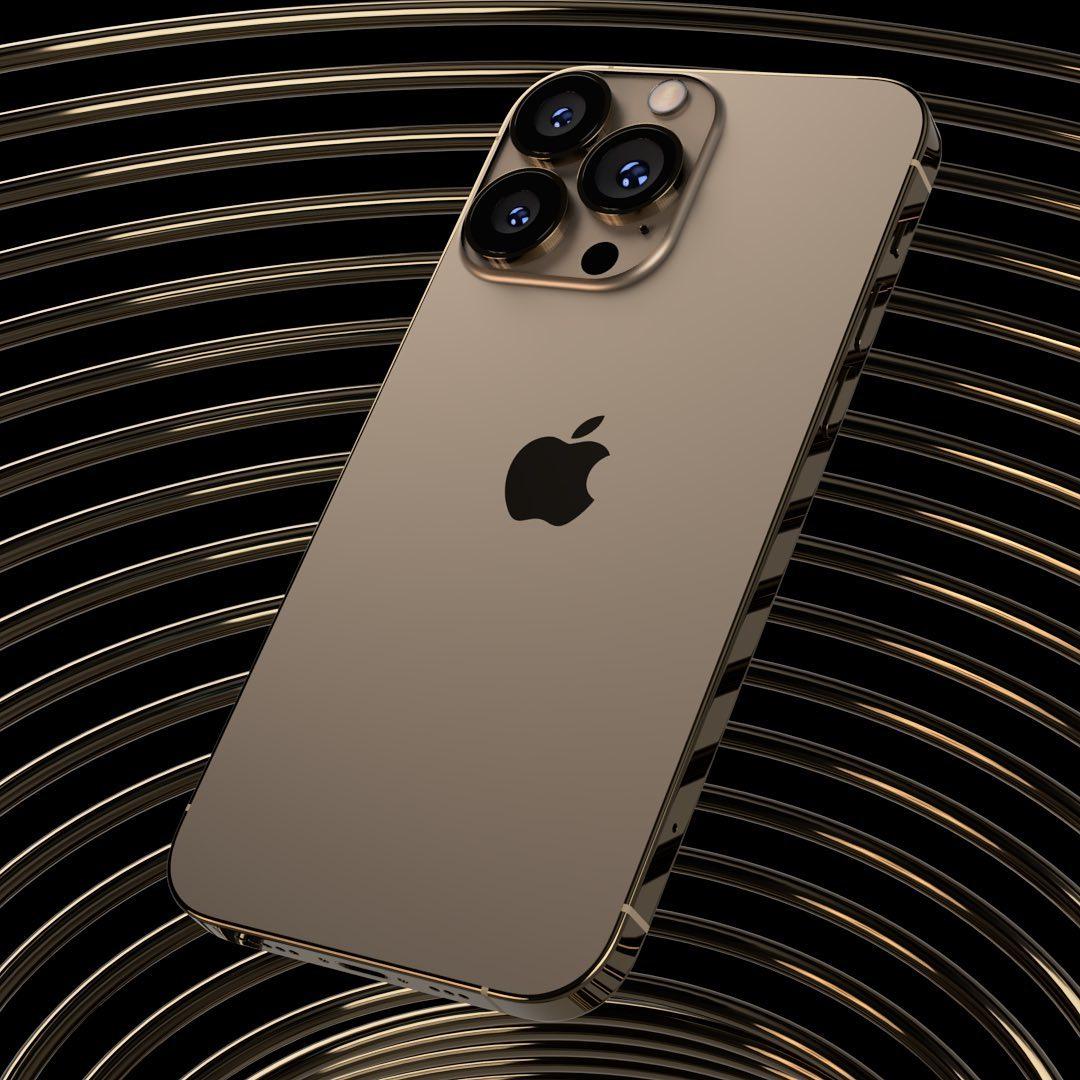 iPhone 13 Pro Max màu vàng hoàng hôn