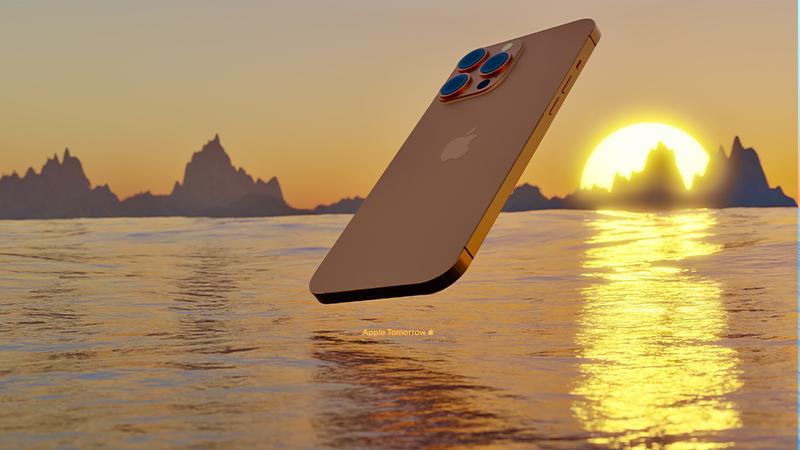 màu vàng iPhone 13