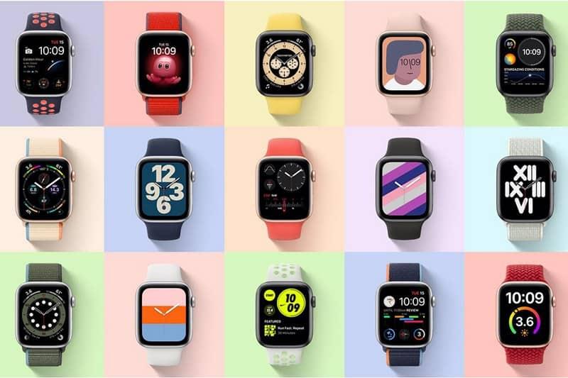 Apple Watch SE có nhiều mặt đồng hồ đa dạng phong cách