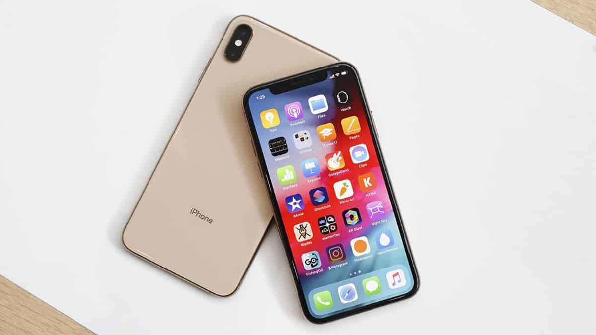 Thiết kế iPhone XS Max