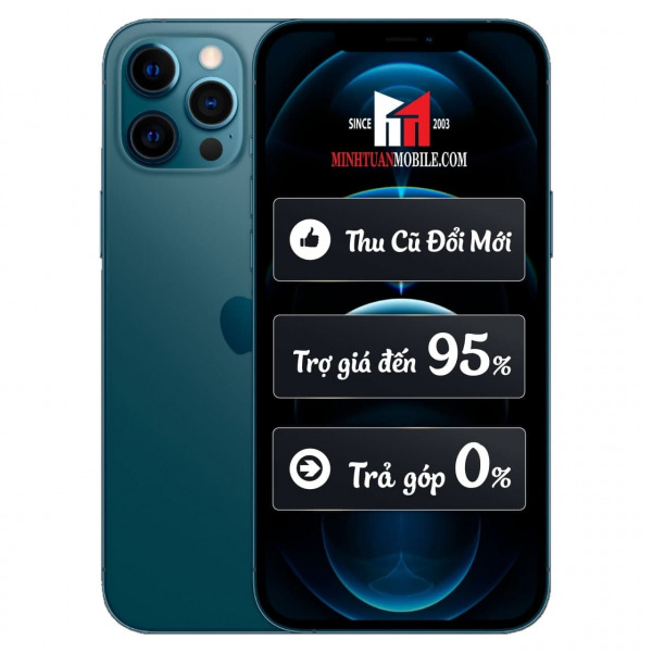 23662 - iPhone 12 Pro Max 256GB - Chính hãng VN A