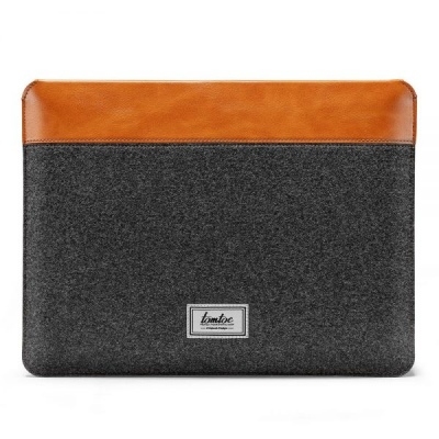 Túi Chống Sốc Tomtoc (USA) Felt & Pu Leather For Macbook Pro/Air 13'' New H16-C02Y