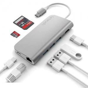 Hub chuyển đổi  Letouch USB-C 8in1 LT3457
