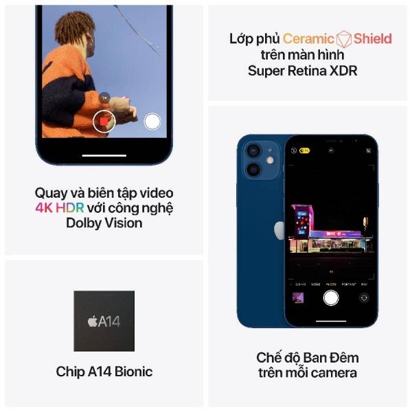 23643 - iPhone 12 128GB -  Chính hãng VN/A - 6