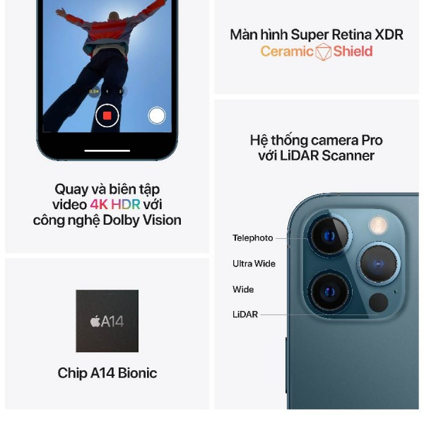 23654 - iPhone 12 Pro 256GB - Chính hãng VN A - 7
