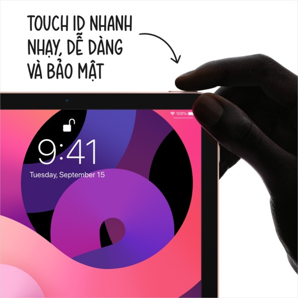 22143 - iPad Air 4 64GB Wifi - Chính hãng VN - 4