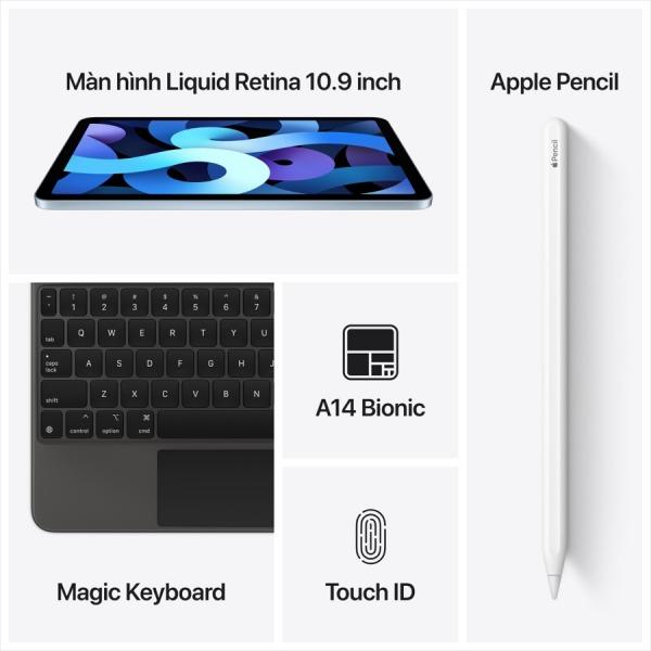22161 - iPad Air 4 256GB 4G  -  Chính hãng VN - 8