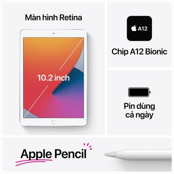 24350 - iPad Gen 8 32GB 4G - Chính hãng VN - 8