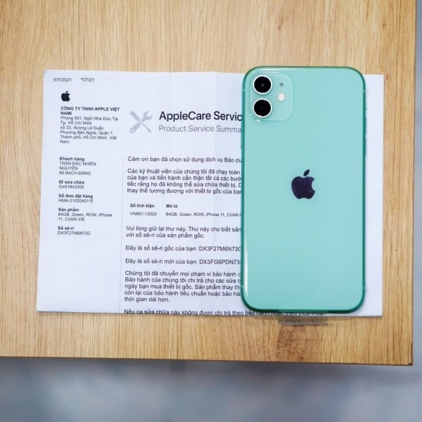 30399 - iPhone 11 128GB - Chính hãng VN A - Trả bảo hành - 12