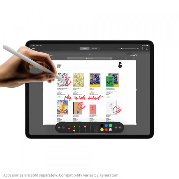 7686 - iPad Pro 12.9 2020 256GB Wifi + 4G - Chính hãng VN - 6