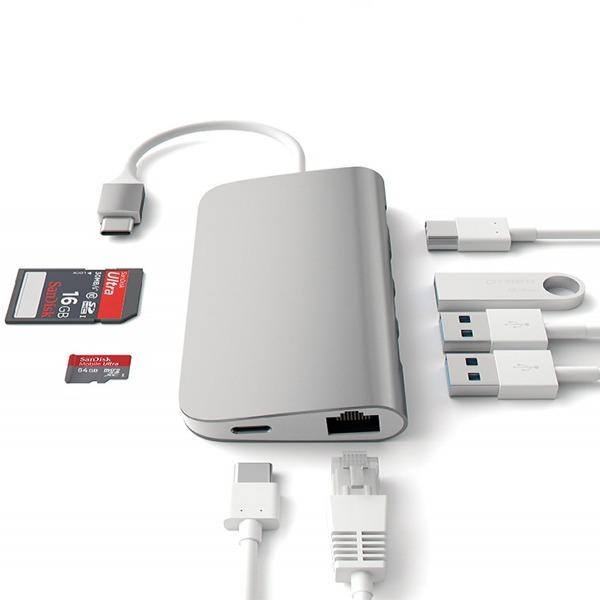 2730 - Hub chuyển đổi Letouch USB-C 8in1 LT3457 - 3